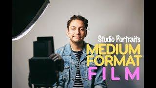 STUDIO PORTRAITS ON FILM (Hasselblad 500CM Medium Format)