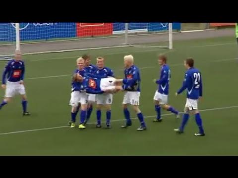 El festejo de un gol mas loco visto