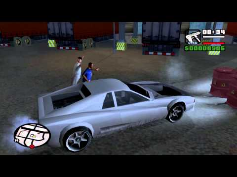 GTA San Andreas Mission 24 Gray Imports (PC)