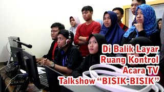 Behind The Scene CONTROL ROOM Program TV TalkShow VARIAN WP iTV
