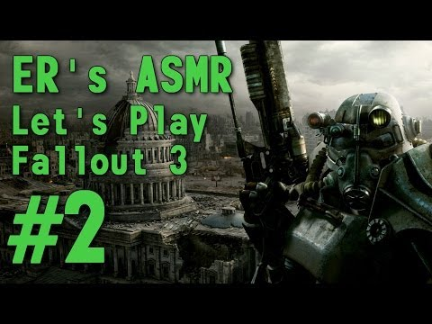 ASMR Let's Play Fallout 3 (PS3) - #2 - The G.O.A.T., The Overseer and The Exit