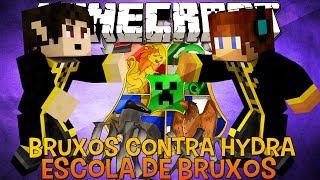 Bruxos Contra Hydra !! #08 Escola de Bruxos Minecraft