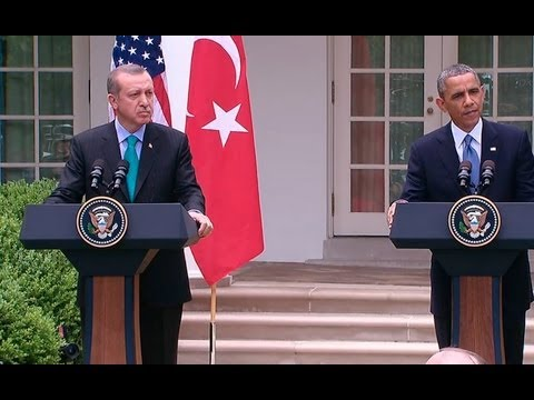 President Obama Holds a Press Conference with Prime Minister Erdogan