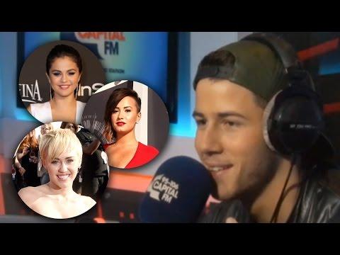 Nick Jonas Says Selena Gomez Better Kisser than Miley Cyrus?