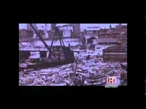 The Great Hurricane of 1938 - Destroys Westerly, Rhode Island