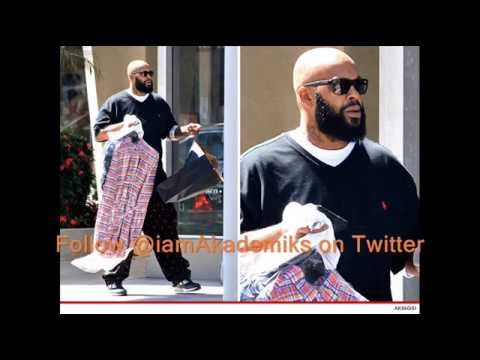 Suge Knight Shrugs Off Getting Shot 6 Times. Eating Hot Wings & Shopping.