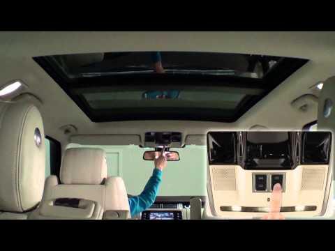 Land Rover Range Rover. Modelo 2013. Interior
