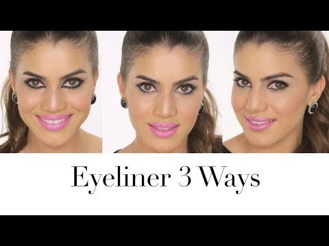 Eyeliner 3 Ways | Beauty Pop with Camila Coelho