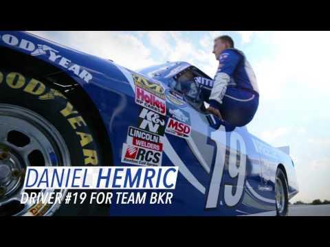 Daniel Hemric Races Eldora Speedway