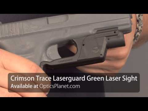Crimson Trace Green Rail Master & Laserguard Sights - OpticsPlanet.com Product in Focus