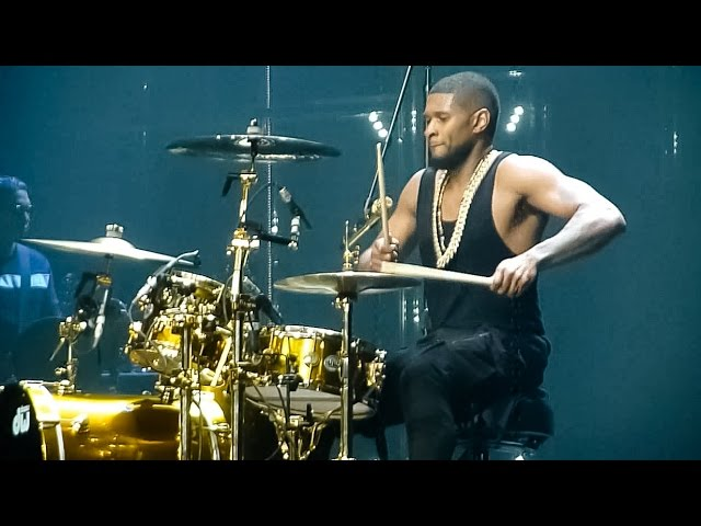 Usher - Good Kisser Live  ZГnith, Paris, 2015 HD