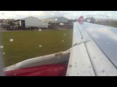 Out the Window - Virgin Atlantic Airbus A330 VS030 Barbados to London