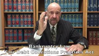 Bankruptcy Law & Fair Debt Collections Practices Act? Business to Business Debt Collection