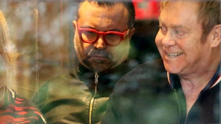 Sir Elton John Steps Out For New Glasses