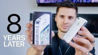 iPhone 4 Unboxing! 8 Years Old Now