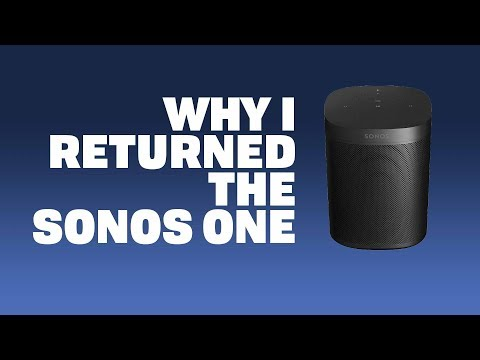 Why I Returned the Sonos One