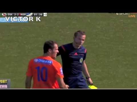 Funniest red card reaction ever - Alhaji Kamara