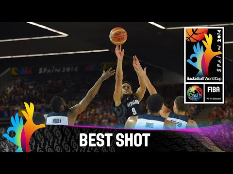 USA v New Zealand - Best Shot - 2014 FIBA Basketball World Cup