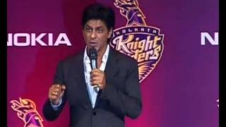 SRK speaks about his fight in IPL at Wankhede Stadium and Support for his team-Kolkata Knight Riders