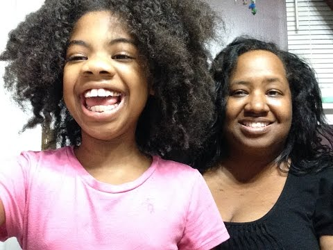 My Daughter's Natural Hair WASH DAY ~ Transition Eczema