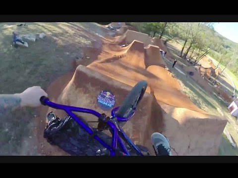 BMX GoPro Session on Huge Dirt Jumps - Red Bull Dreamline 2014