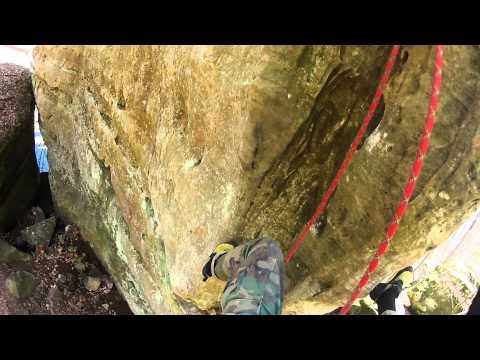 Energizer, 12a . Jackson Falls Southern Illinois Sport Climbing
