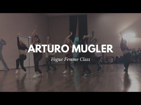 Arturo Mugler  Vogue Femme class | MOSCOW 2017 - Zorra Vogue Ball