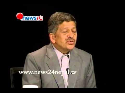 BUSINESS TALK WITH -DEEPNADRA BDR CHETRI (2071/12/07)- NEWS24 TV CHANNEL