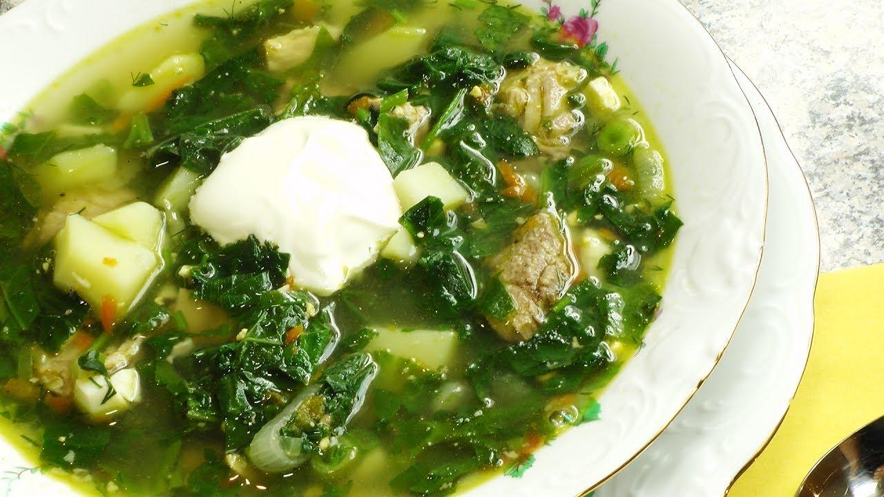Суп с мясом и яйцом рецепт