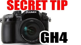 GH4 Tip Hack Secret! Zoom in x2 without losing quality!