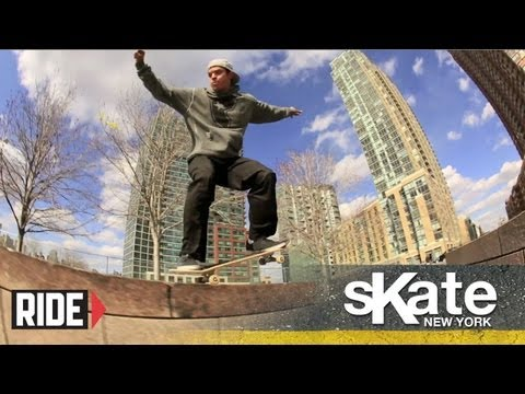 SKATE Queens with Luis Tolentino