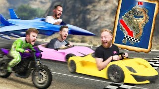 RACING ACROSS THE MAP! | GTA5