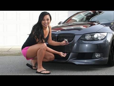 how to touch up paint chips on your car using dr colorchip repair kit on a bmw 335i ibowbow. Black Bedroom Furniture Sets. Home Design Ideas