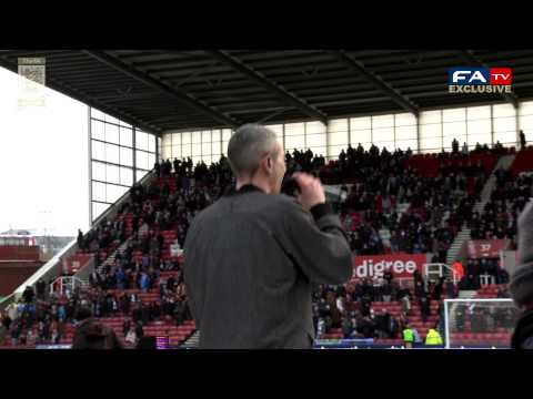 Devlin's FA Cup Anthem performance at Stoke v Man City | The FA Cup 4th Round 2013