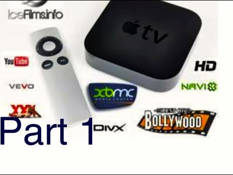 AppleTV-2 Jailbroken (Part~1) NO MORE CABLE BILL~FREE HDTV CHANNELS & MORE
