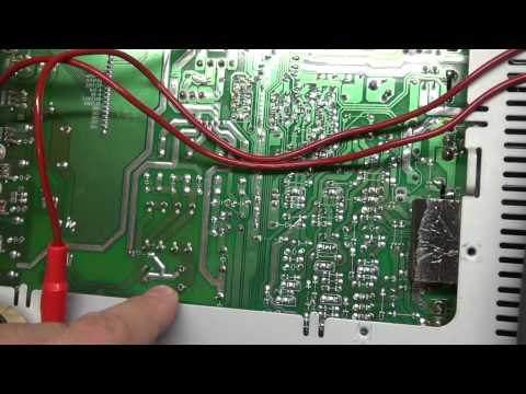 Harman Kardon Receiver Repair. Buzzing Audio 60 Cycle Hum ELECTRONICS REPAIR.