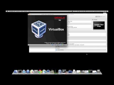 Creating A VirtualBox Machine And Installing CentOS 7