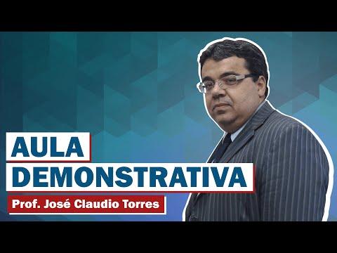 Vídeo 01 - Custas Judiciais - Prof. José Claudio Torres