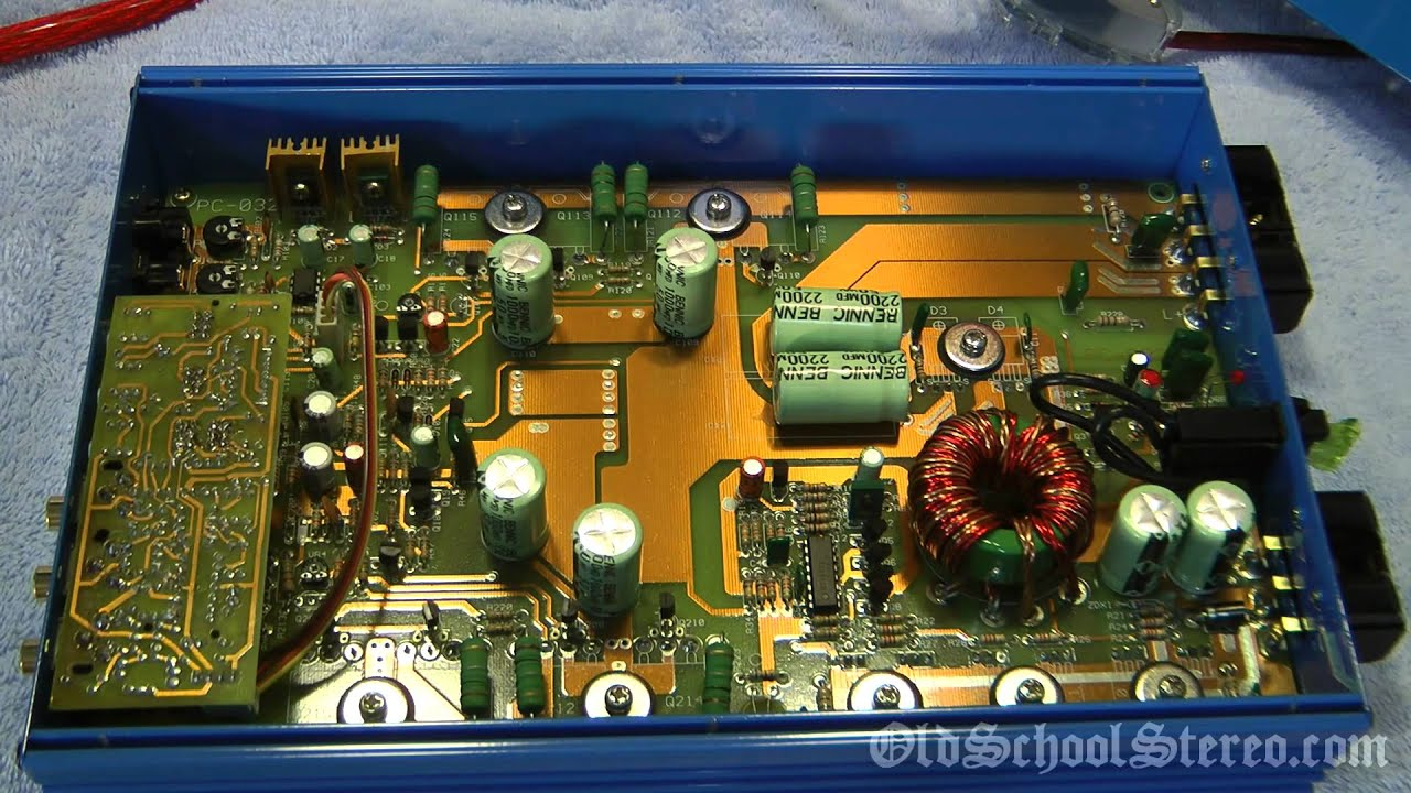 1998 Audio Art 2400 HO Car Amplifier Overviewed and Bench