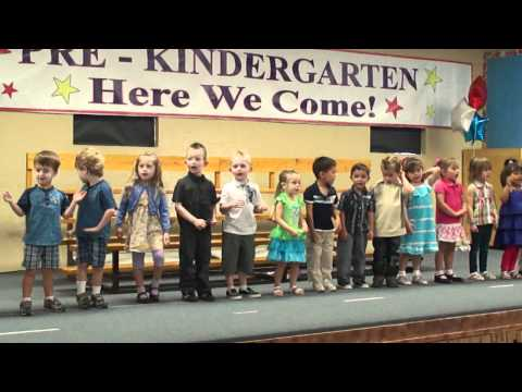 Murrieta Ranch Preschool Graduation Room 5 song