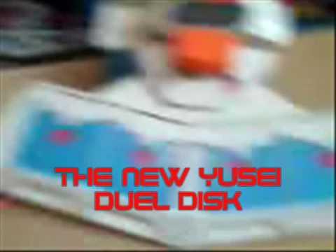 YUGIOH 5Ds DUEL DISK SNEEK PEAK!!!!