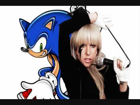 Flying Battery Romance, mash-up de Sonic con Lady Gaga