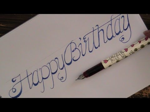 Cool Ways To Write Happy Birthday On A Cake