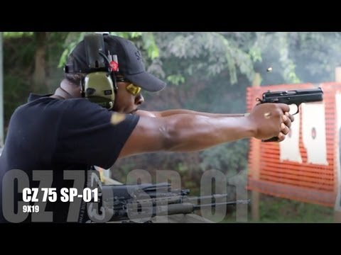 CZ 75 SP-01 SHOOTING REVIEW: WHERE'S THE RECOIL !?!