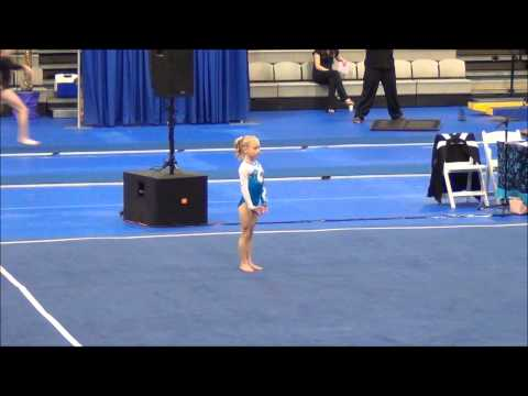 Level 6 Gymnastics, California Classic 2012