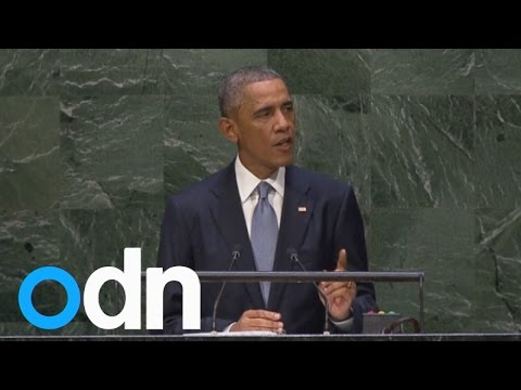 President Obama gives vision of US leadership to UN General Assembly
