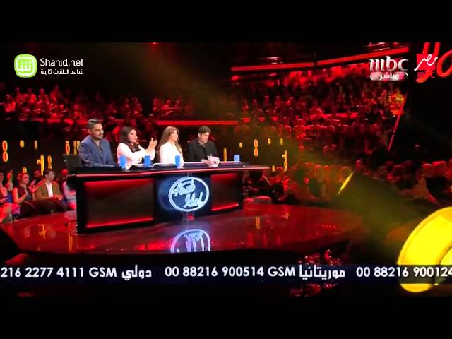 Arab Idol - حميد العبدولي - وكديللي - الحلقات المباشرة