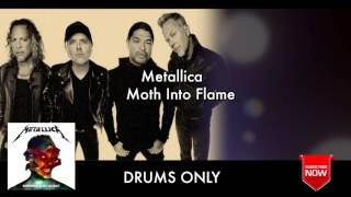 "Metallica ""Moth Into Flame"" Drums Only ""Backing Track"""