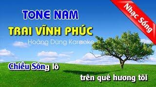 Trai Vĩnh Phúc Karaoke - Trai vinh phuc nhac che nua vang trang REMIX