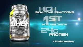 Whey Protein - Platinum 100% Whey by MuscleTech